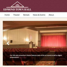 Edmond Town Hall Web Design