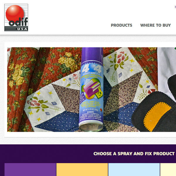 Odif USA Web Design