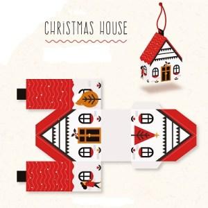 Karácsonyi házikó DIY nézőkép