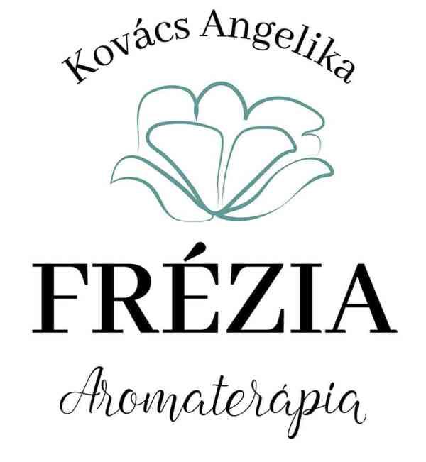 Frézia elsődleges, Frézia logó, Frézia virágos, modern, letisztult, nőies logó kisvállalkozásoknak