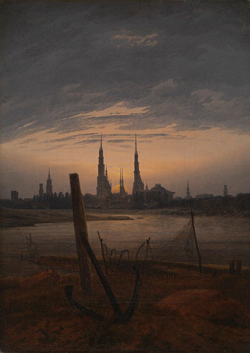 Paesaggio Nel Romanticismo