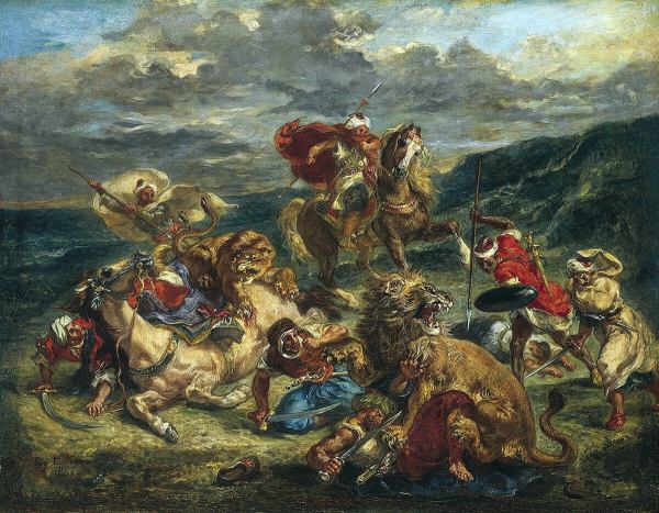 Eugne Delacroix And Rise Of Modern Art