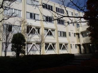 上五島高校教室棟(南側)耐震改修工事