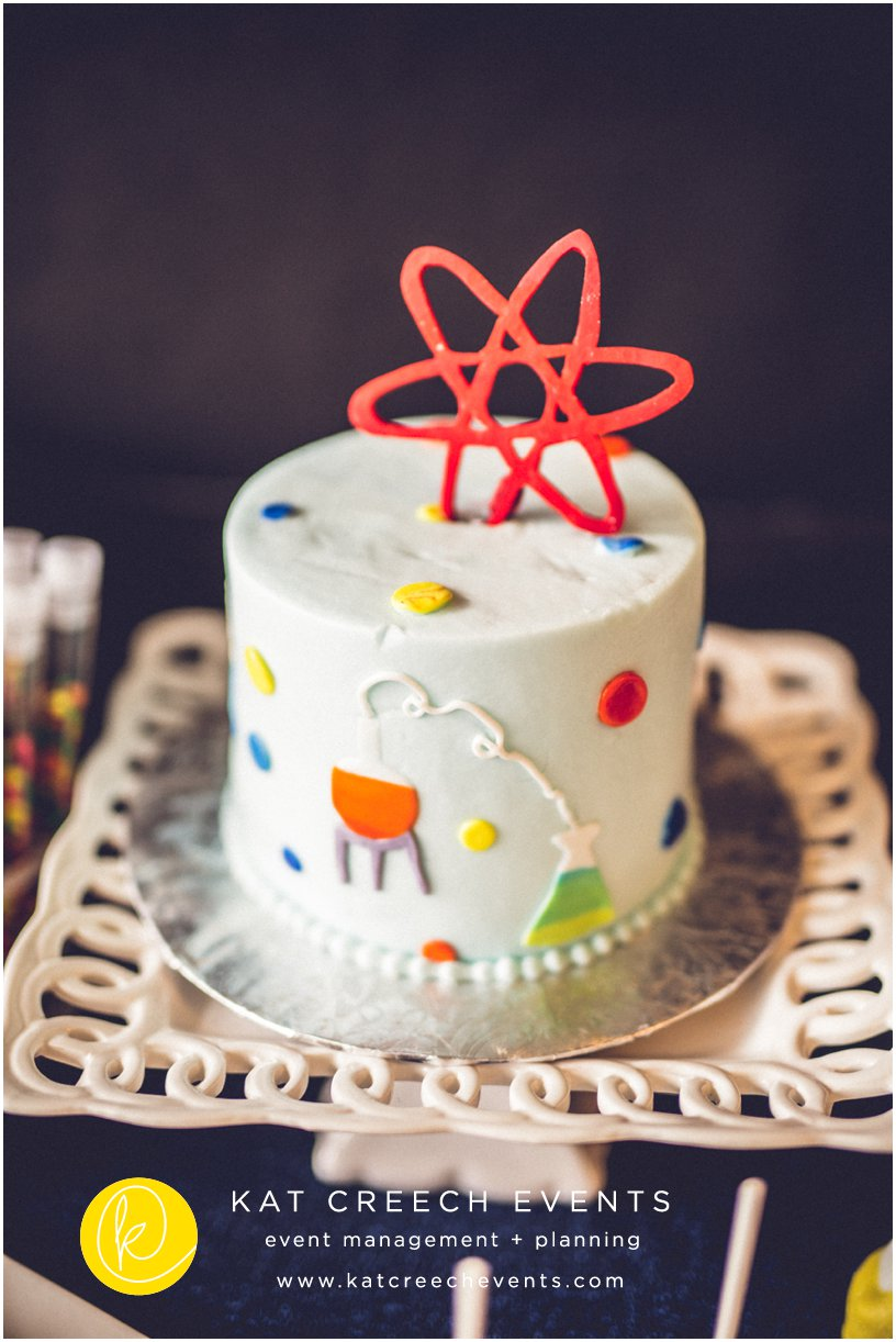 Science Themed Birthday Bash