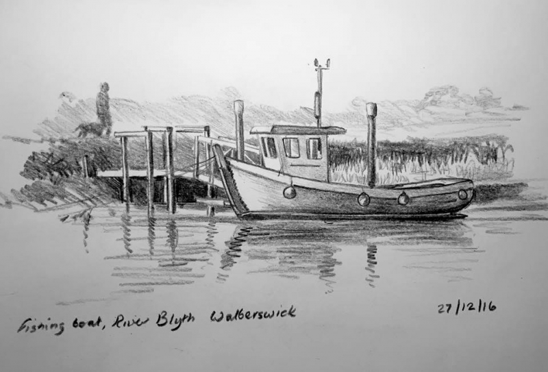 Fishing boat Southwold 362
