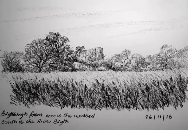 blythburgh across the reeds 331
