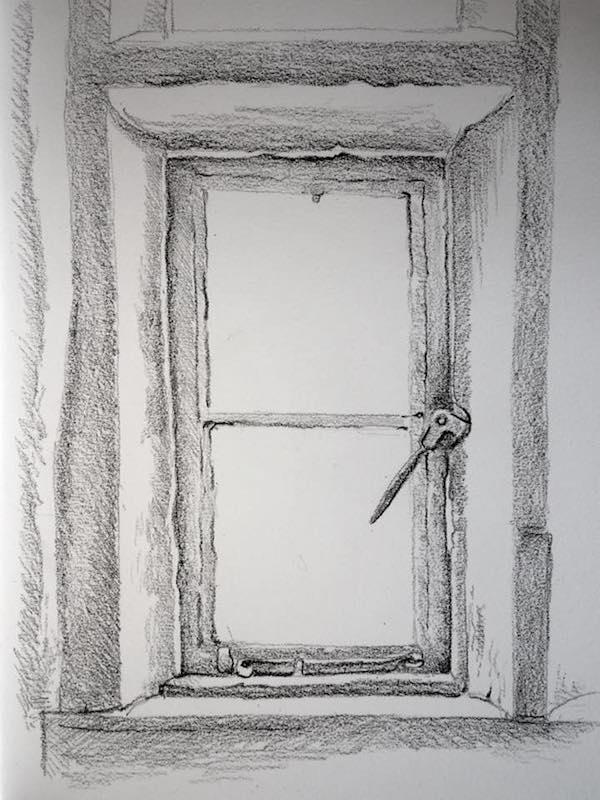 Gallery window sketch 217