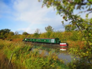 Hire Boat on the Grand Union Canal