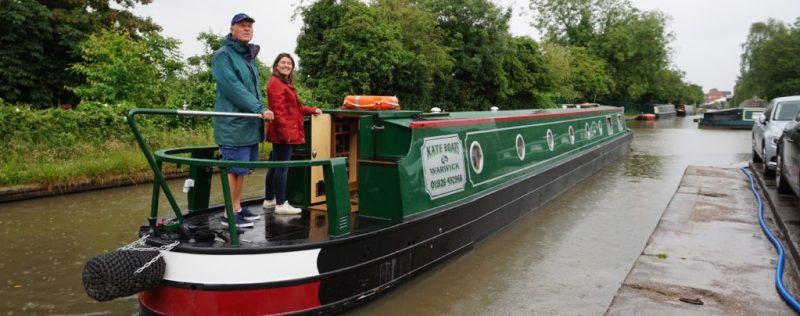 Off on her maiden voyage