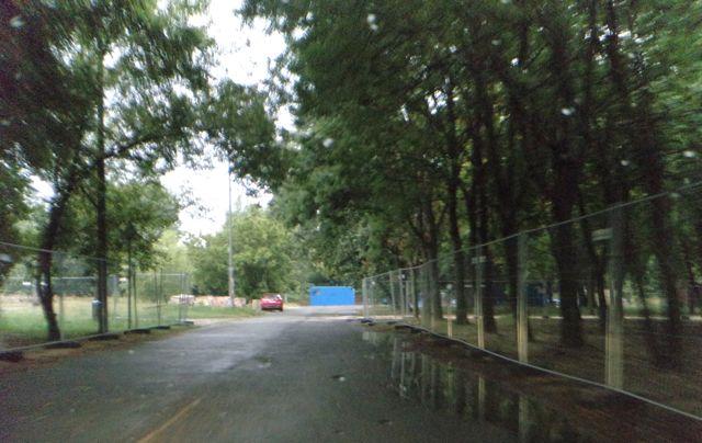 sziget main festival road