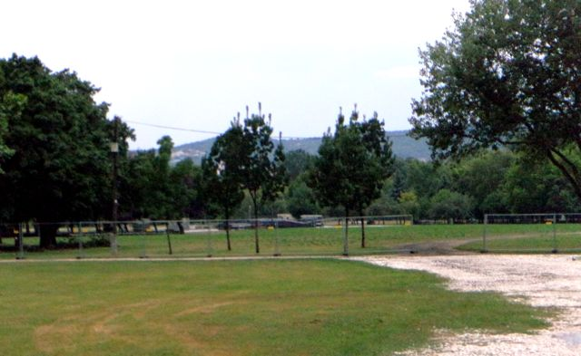 main stage before sziget festival preparation