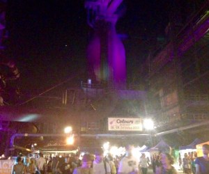 mining purple colours of ostrava music festival