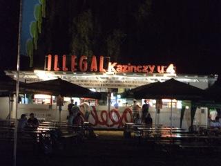 illegal pub