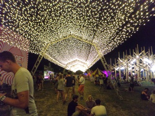 light path at Sziget