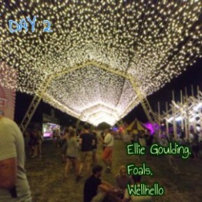 sziget festival light installations art