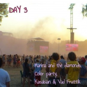 sziget festival 2015 day 3 dust color party