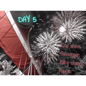 day 5 sziget festival A38 stage fireworks