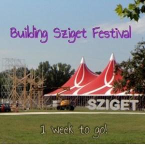 building sziget festival