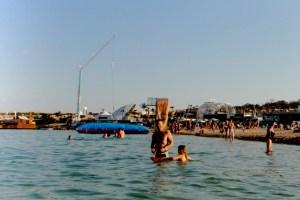 bungee jumping at zrce beach