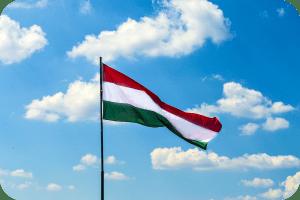 hungary flag nationalism sky blue
