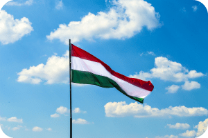 hungary flag nationalism sky blue