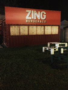 Zing burger iconic street food