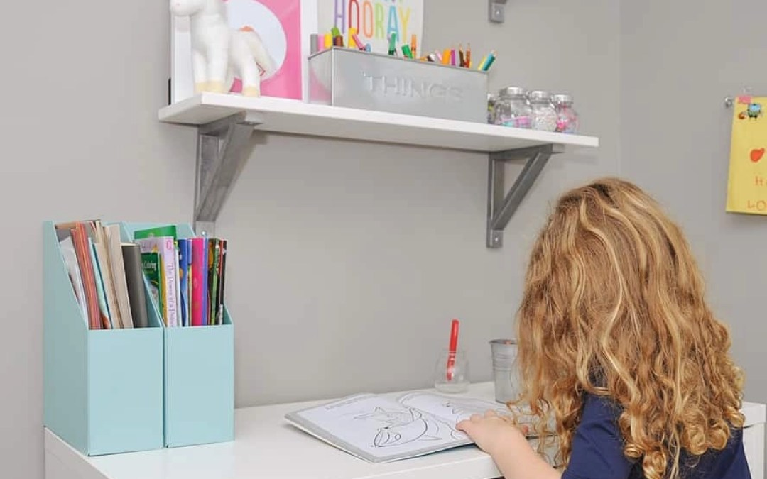 How to Organize Art Supplies for Kids (Plus the Easiest IKEA Hack Ever)