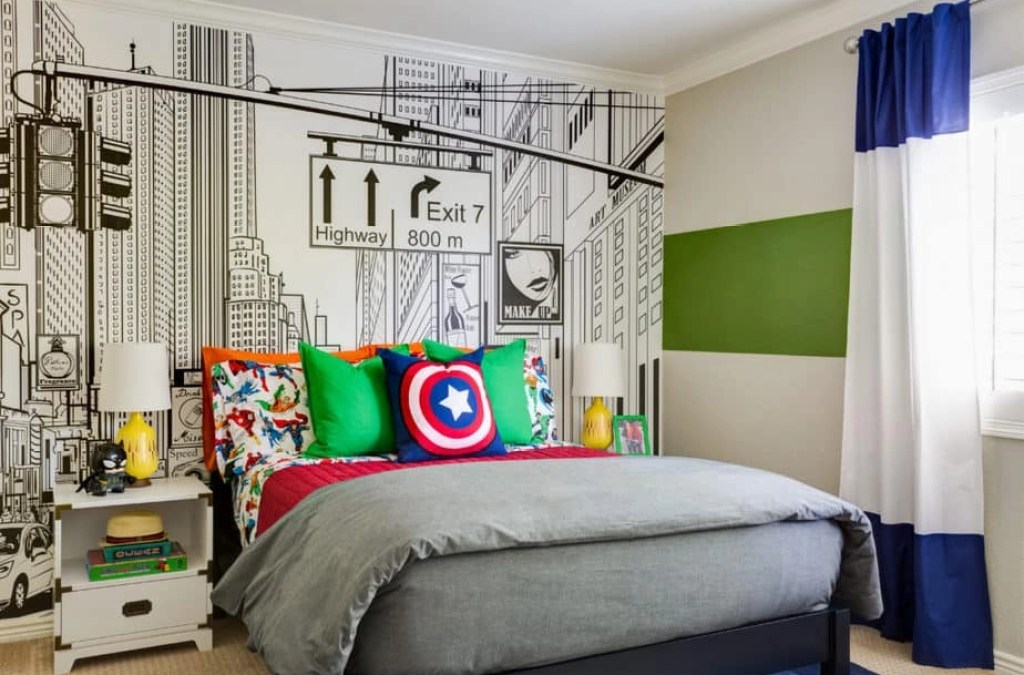 3 Simple Ways to Tastefully Incorporate Princesses, Superheroes and Other Characters Into a Kids' Room