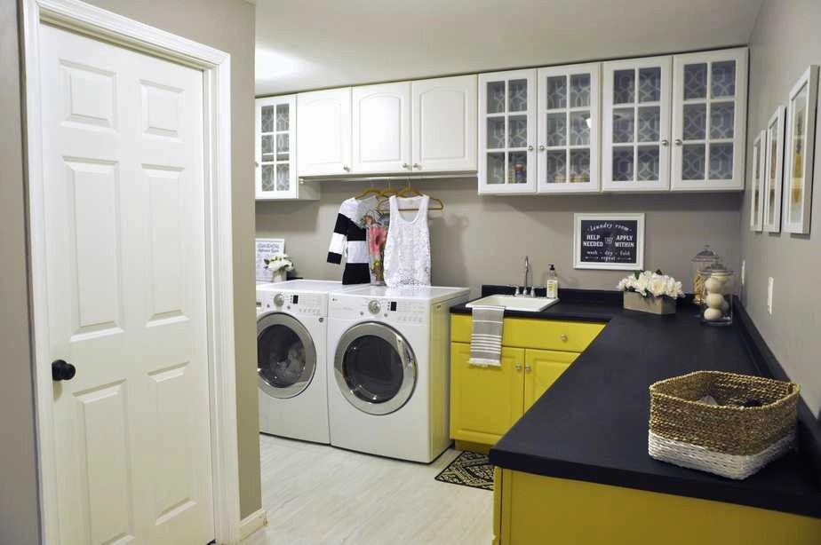 Before and After: Our Laundry Room Makeover Reveal For Under $200