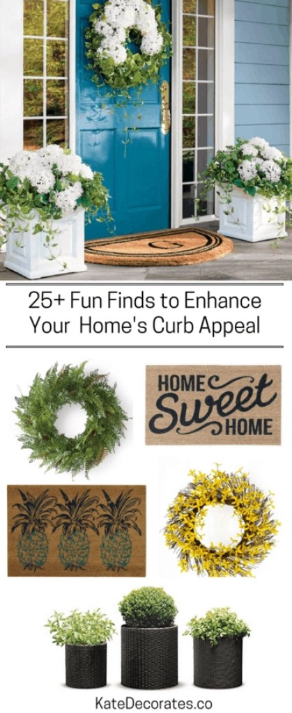 Need some curb appeal ideas for spring and summer? Well, you're in luck!