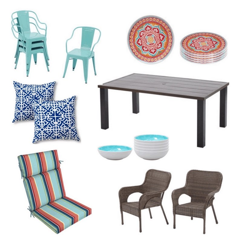 walmart outdoor furniture decor finds