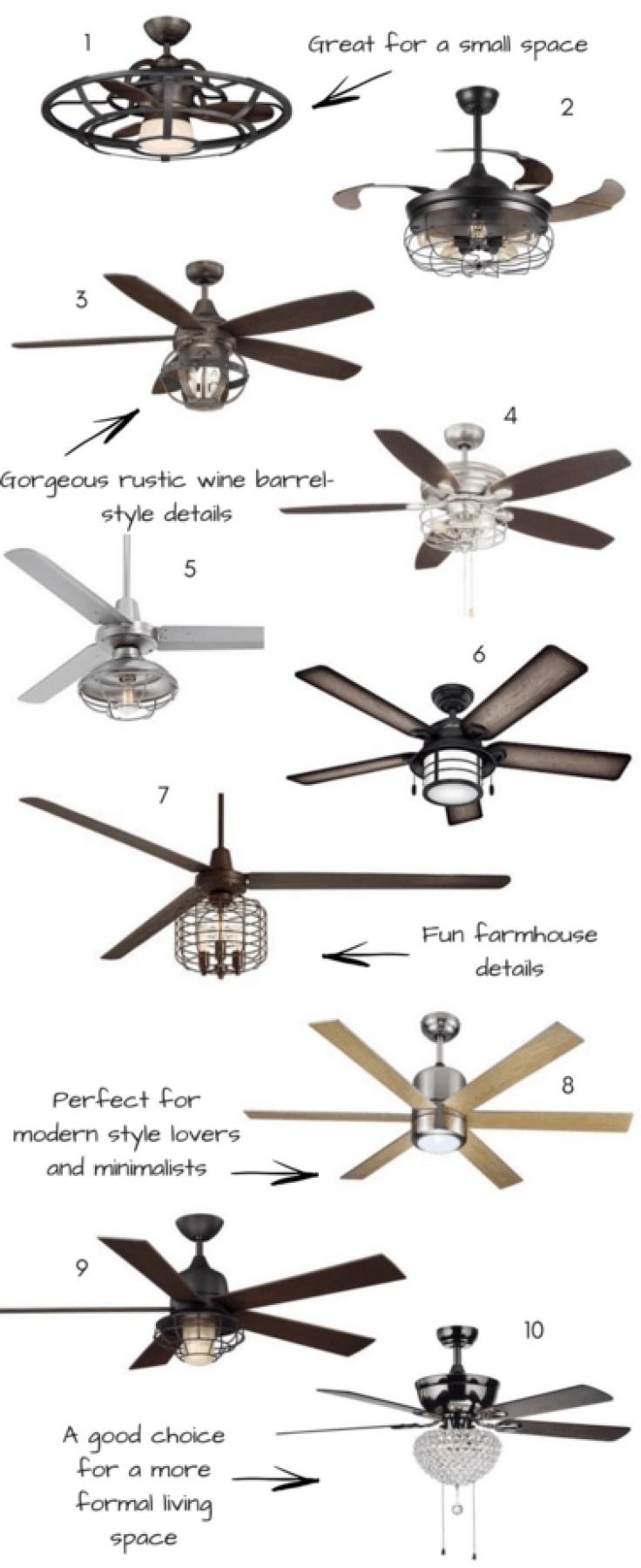 ceiling fans under 500