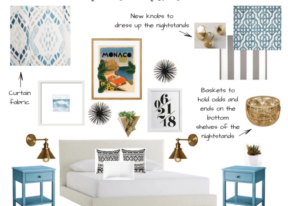 Plans for Our Modern Boho Master Bedroom