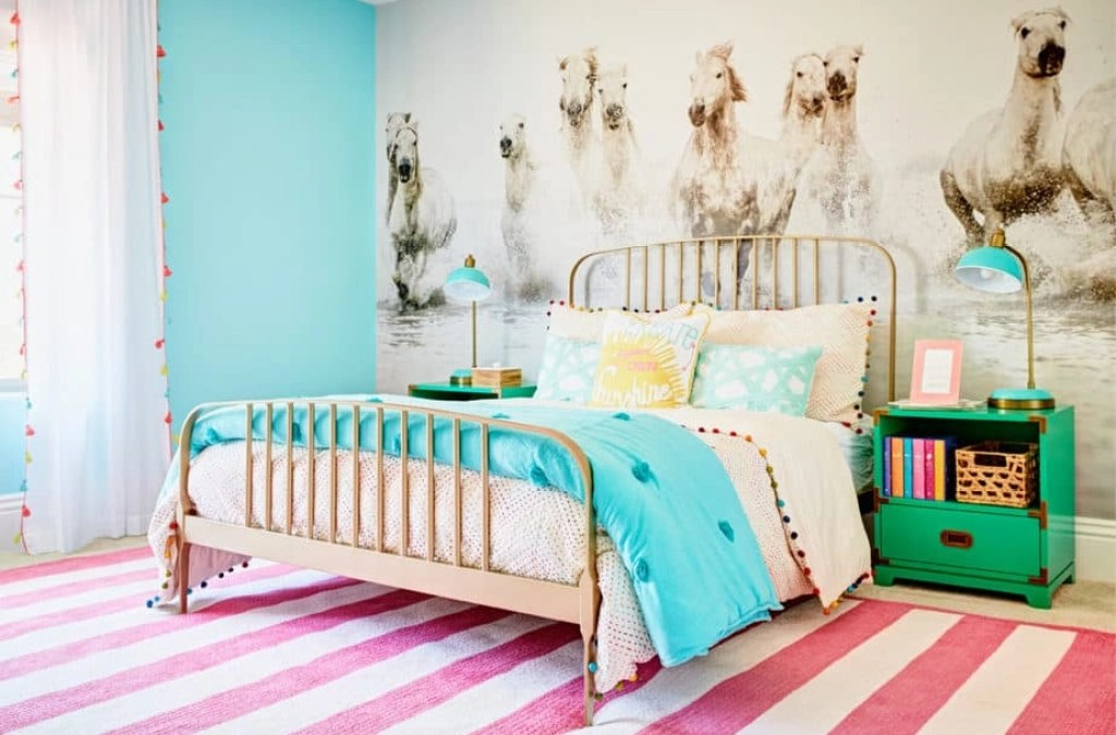 9 Colorful Girls' Rooms You'll Want to Copy