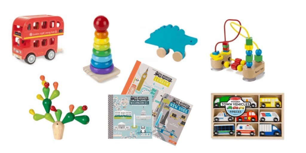 colorful toys as decor
