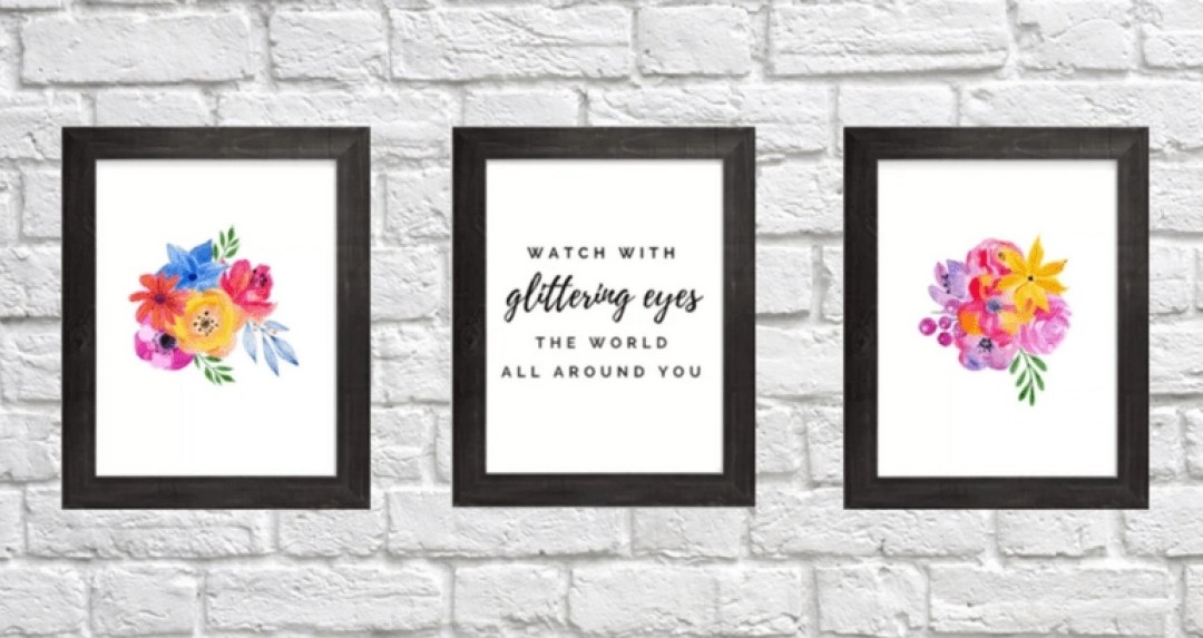 Introducing the Kate Decorates FREE Printable Wall Art Gallery