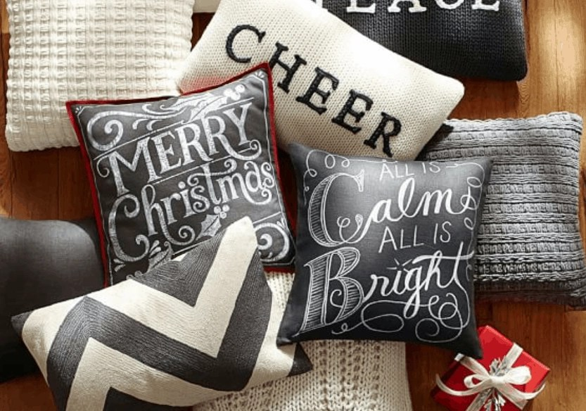 30+ Holiday Throw Pillows For Every Decor Style