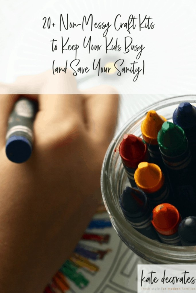 These 20+ all-in-one craft kits are perfect for keeping the kids busy on weekends or over school breaks while saving your sanity!