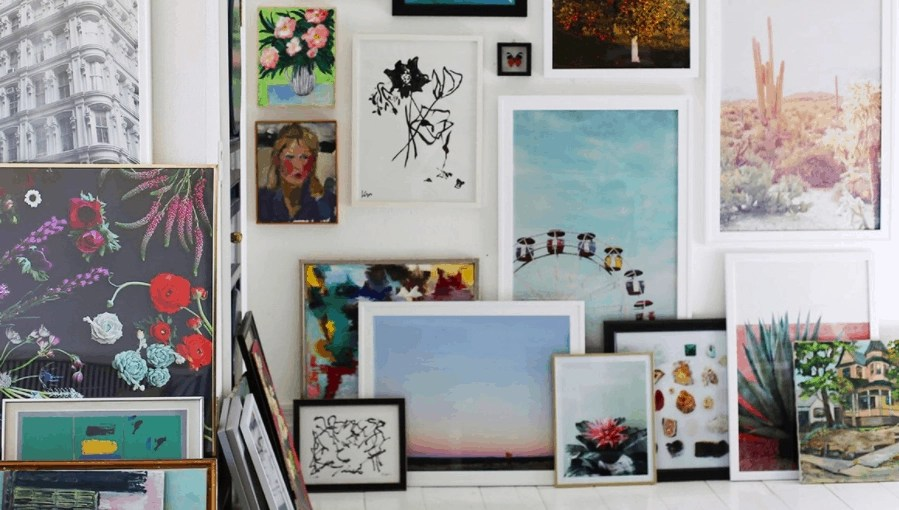 4 Great Online Shops For Affordable Wall Art
