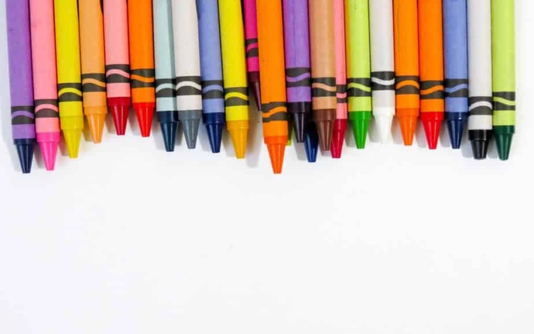 My Simple Secret for Keeping Crayons and Markers Organized