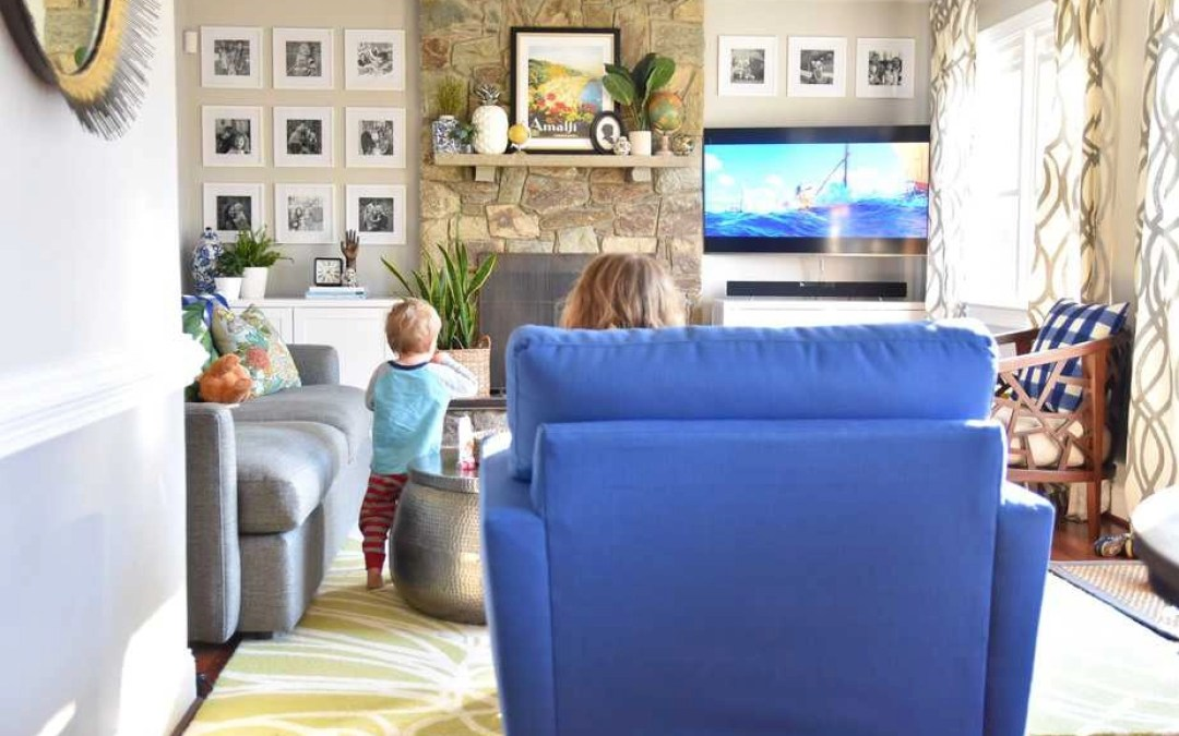 Family Room Refresh: How We Added More Seating and More Storage