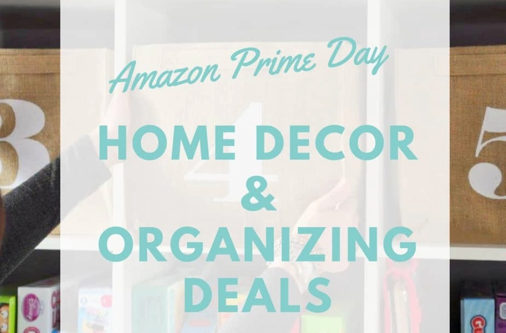 Favorite Decor & Organization Deals for Amazon Prime Day