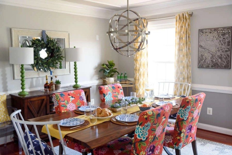 colorful dining room 1