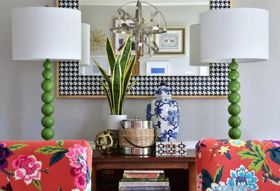 spring decorating dining room colorful ideas