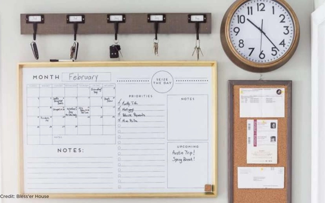 12 Family Command Center Ideas to Get and Stay Organized