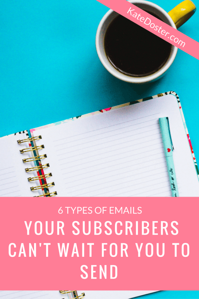 6 blog newsletter ideas your email subscribers will love to get in their inbox. click or save