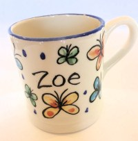 Hand Painted Mugs - Kate Glanville Hand Painted Tiles ...