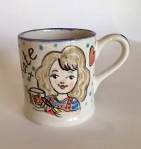 Hand Painted Mug - Kate Glanville