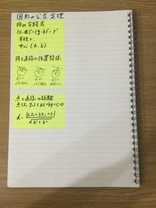 数学ノート,裏表紙
