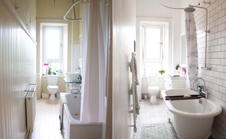 bathroombeforeandafter full hd small bathroom makeover before and after for ideas iphone high quality a after kate la vie
